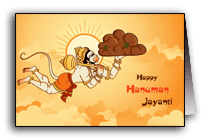 Hanuman Jayanti Greetings