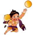 Hanuman Playing