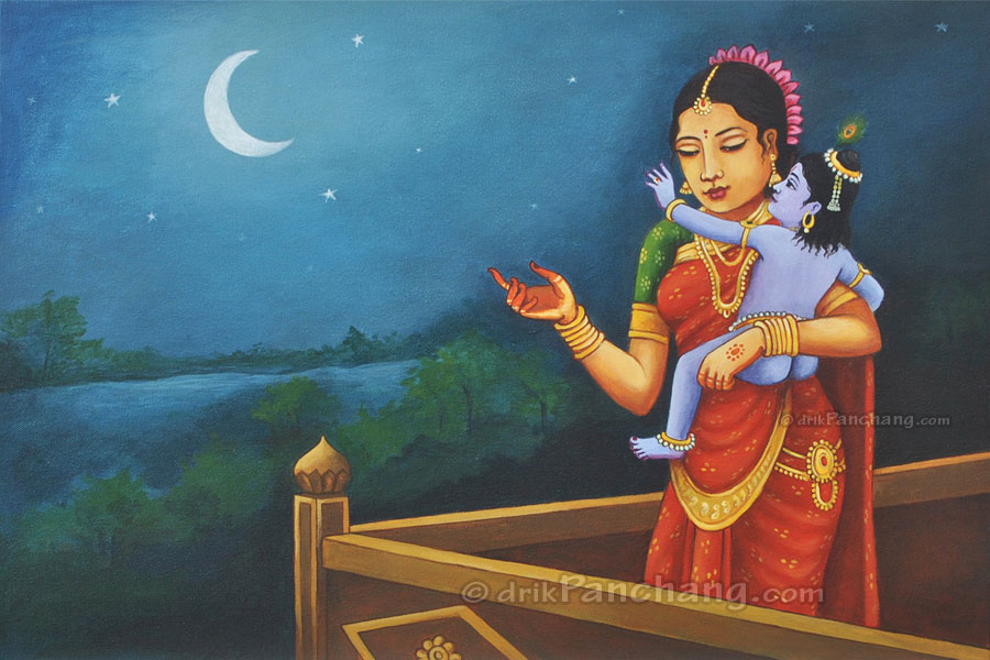 Bal krishna painting online purchase buy bal krishna for Selling oil paintings online
